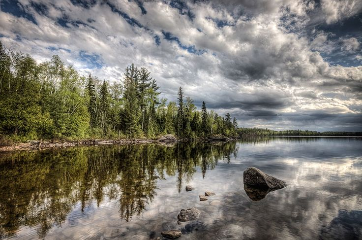 Boundary Waters Canoe Area, Ely, Minnesota