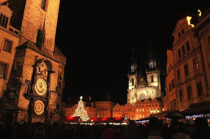 Prague old town during Christmas.Magical!