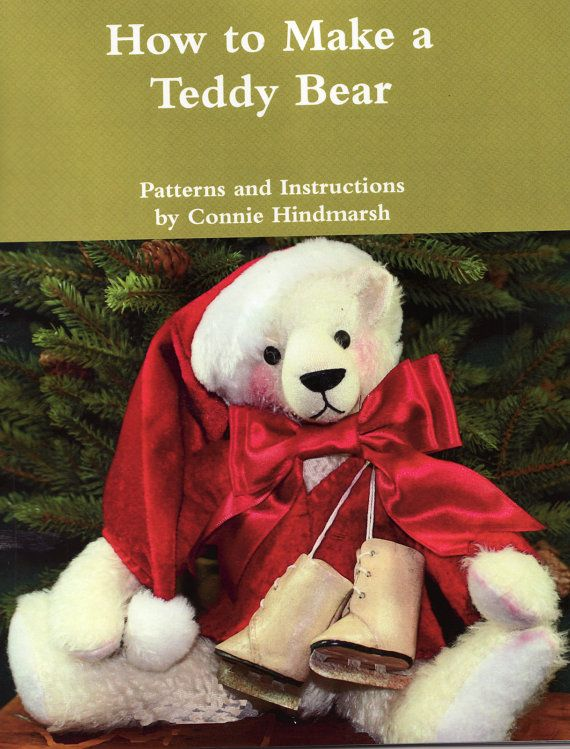 14 best teddy bear making books and patterns images on pinterest tutorial pdf how to make a teddy bear 70 color by cbhindmarsh 1500 fandeluxe Ebook collections
