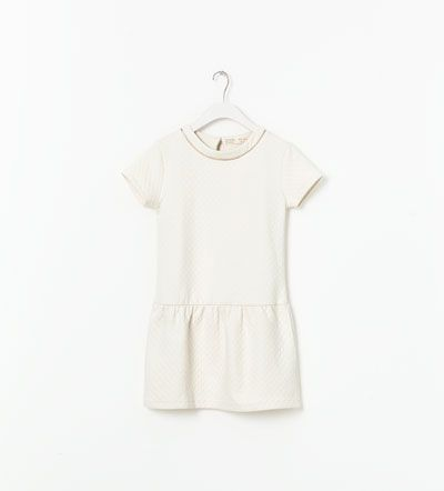 Image 1 of QUILTED DRESS from Zara