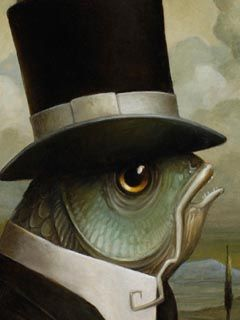Brian DespainFish Gentleman, Animal Art, Http Despainart Com Index Php, Something Fishy, Animal En, Gentleman Brian, Brian Despain, Arty Pharti, Tops Hats