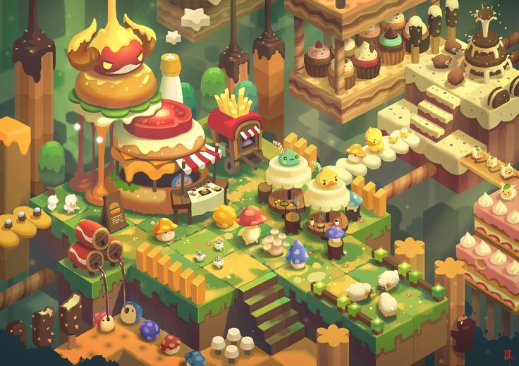 NDC 2016  Maplestory2 by JAY KIM on ArtStation.