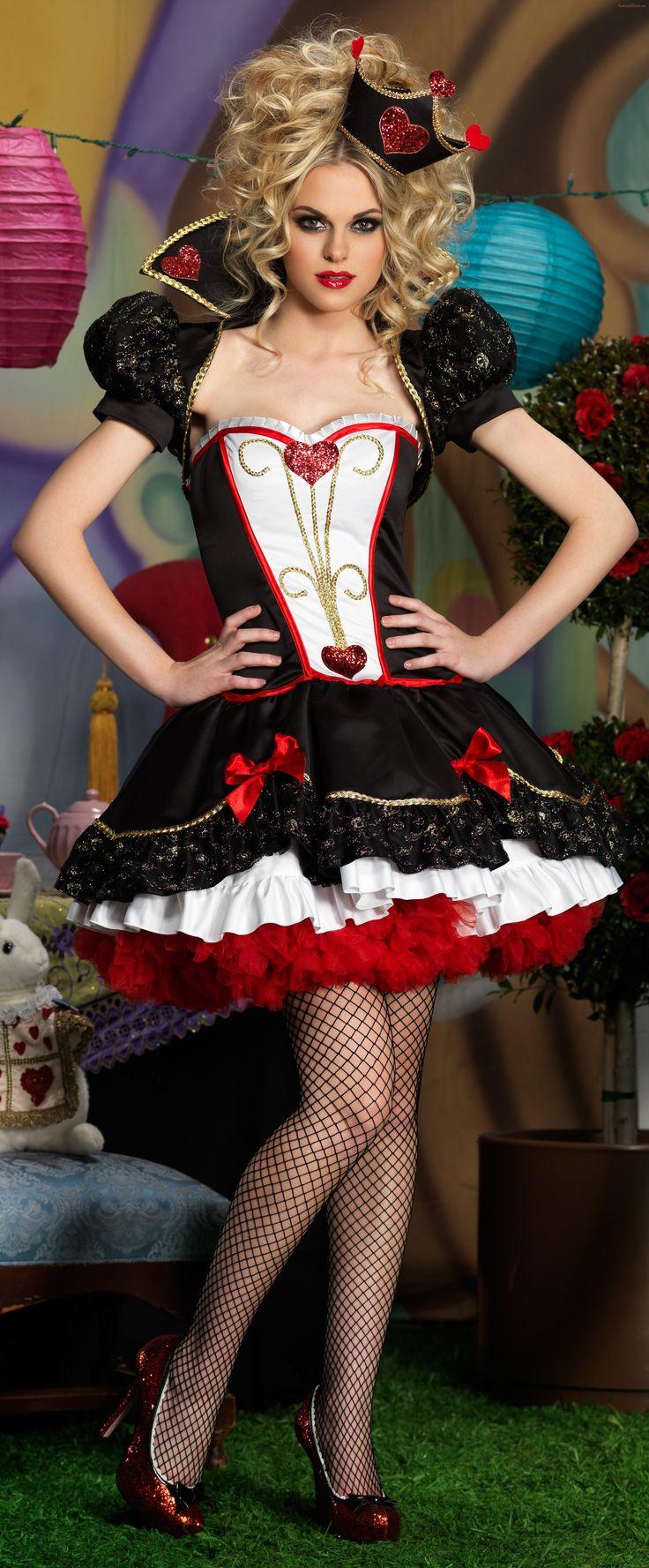 Wonderland Queen Deluxe Adult Costume