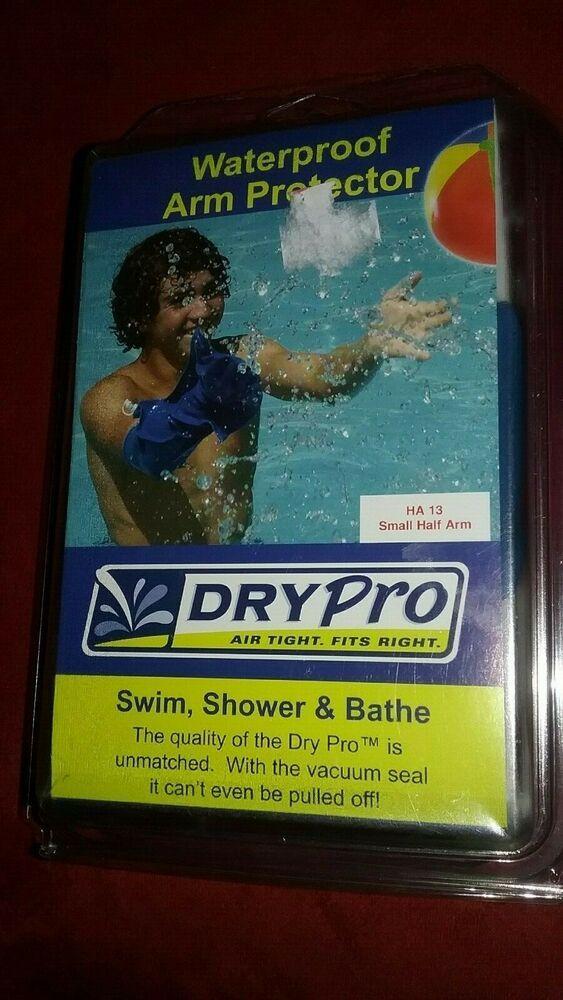 Dry Pro Waterproof Cast Cover Small Half Arm Ha 13 Nib Drypro