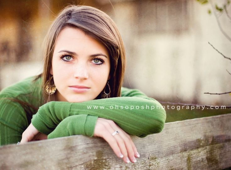 Senior pic pose - just with a smile! :D