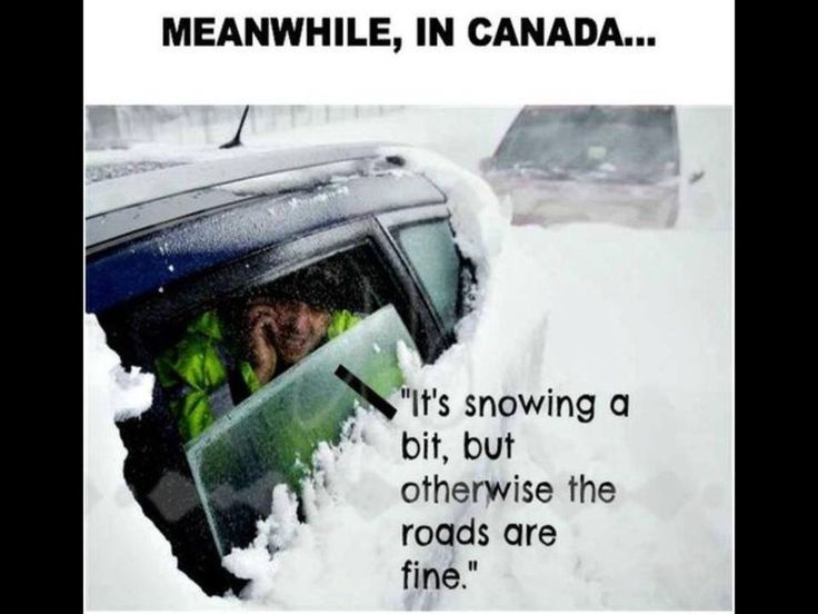 I'm not Canadian but my mom lives there... There is a lot of truth to this!