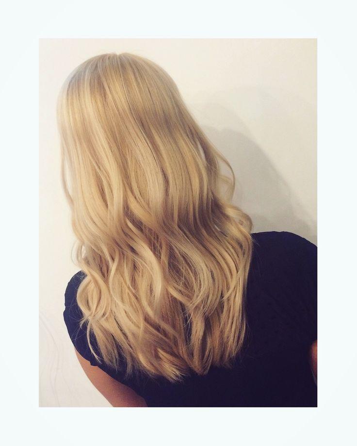 Haircolor by me 🎨  #haircolor #blonde