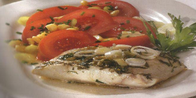 Corvina al Vino Blanco, una fácil y deliciosa Receta, ideal para todos los amantes del pescado.