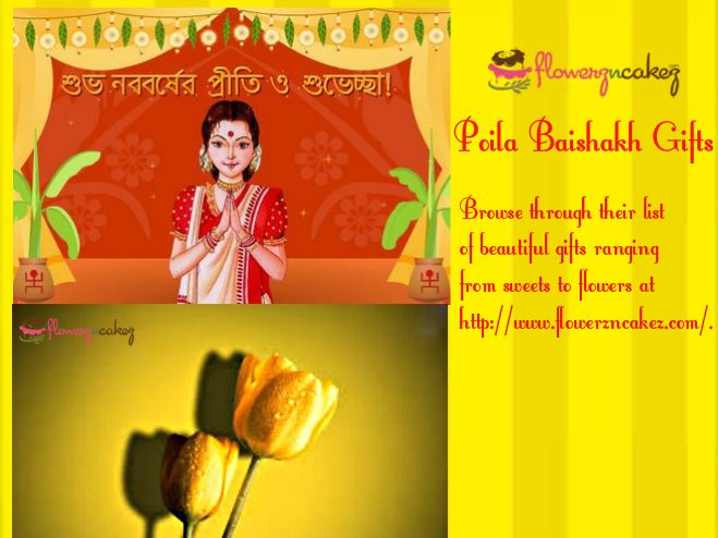 Buy Exclusive Poila Baishakh Gifts from Flowerz n Cakez