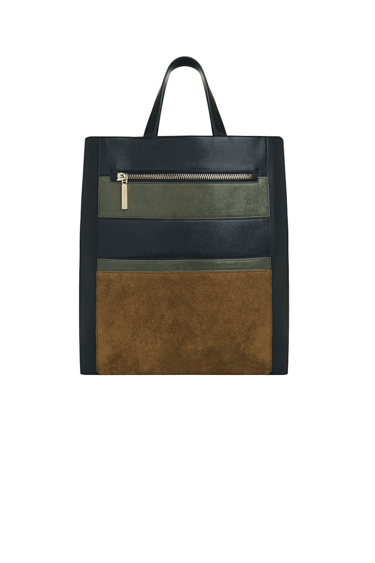 Victoria Beckham Zip Panel Shopper | Accessories: Must ...