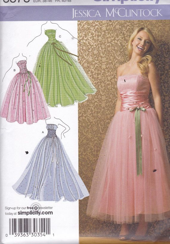 8 best Gowns images on Pinterest | Sewing patterns, Dress patterns ...
