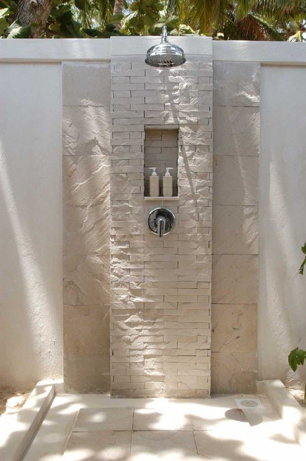 25 Fabulous Outdoor Shower Design Ideas | Daily source for inspiration and fresh ideas on Architecture, Art and Design