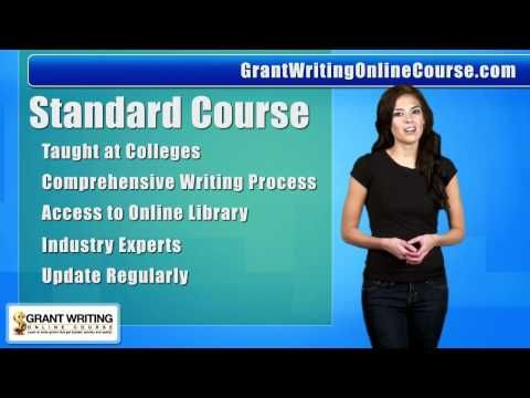 (1) Grant Writing Online Course | Grant Writing Classes | Online Grant Writing Course - YouTube