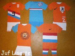 Thema kleing en sport, ontwerp tenue Nederlandse sporters