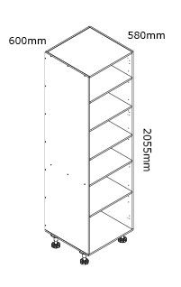 kaboodle flat pack kitchen 600mm pantry cabinet installation instructions