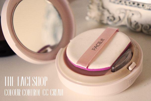 The Face Shop Colour Control CC Cream review #korean #makeup
