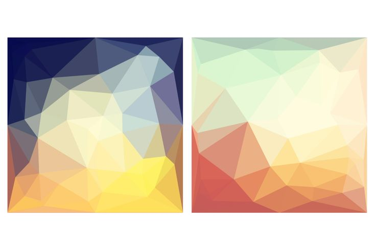 Flat Triangle Backgrounds by Elena Neculae on @creativemarket