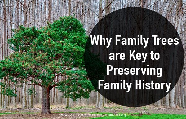 Why Family Trees are Key to Preserving Family History ...