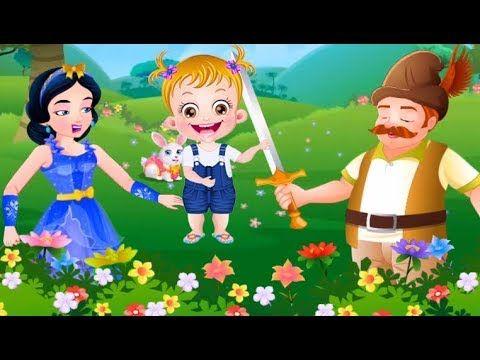 Baby Hazel Games For Kids ! Baby Hazel Snow White Story
