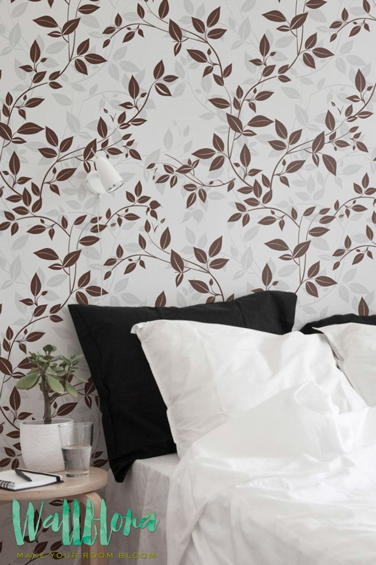 206 best products images on pinterest adhesive vinyl vinyl garden rose leaves pattern wallpaper leaves removable wallpaper rose leaves decal wall sticker amipublicfo Gallery