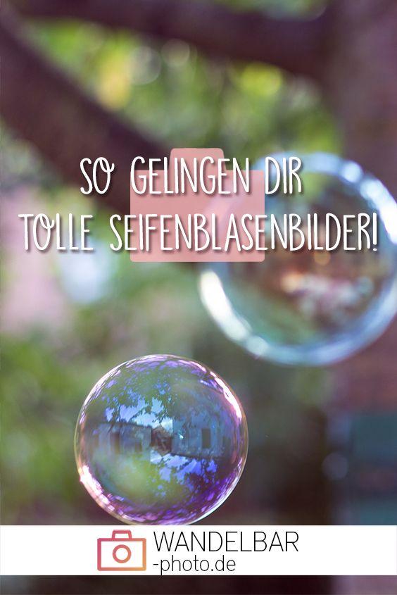 Die Geheimnisse hinter schönen Seifenblasenbildern