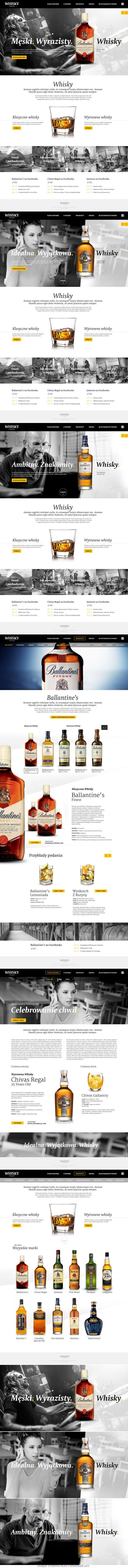 Ballantine's whisky  #ProntoDigital #WebDesign