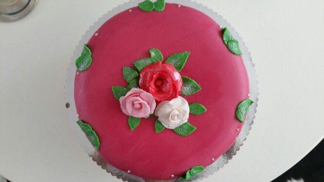 Chipolata taart met marsepein