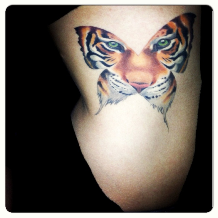 The freedom of a butterfly and the leadership and strength of a tiger, that perfect fusion