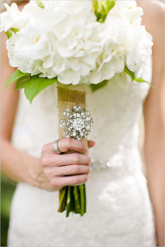 185 Best Wedding Bouquet Bling Images On Pinterest