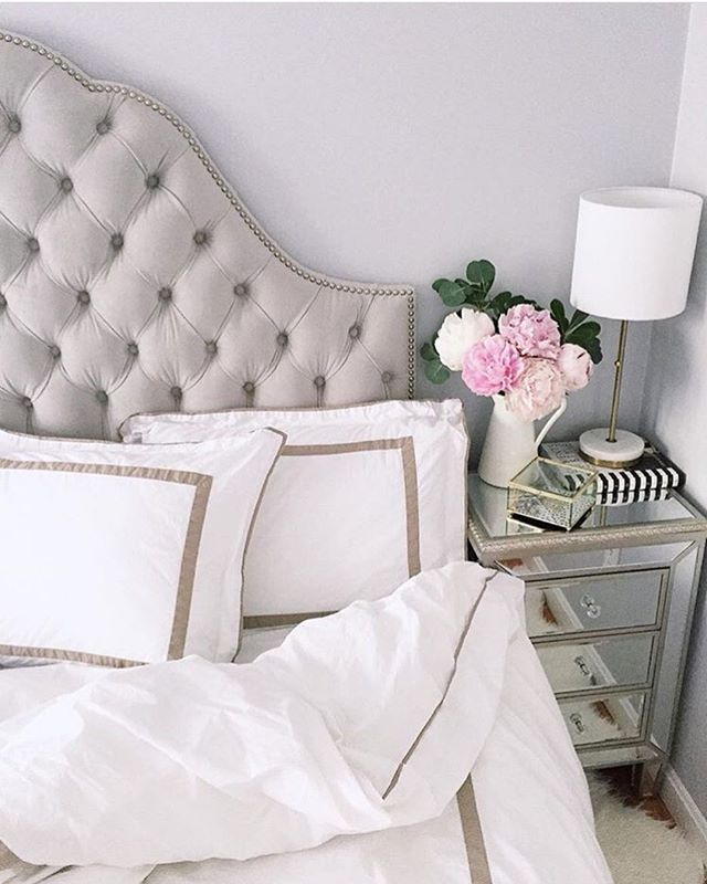 to @extrapetite for making it out of bed this morning. Pretty sure we would never leave this dreamy setup! [Check out the link in our profile to shop these exact pieces she got #onOneKingsLane!] #MyOKLStyle #regram
