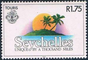 Sello: Emblem (Seychelles) (Tourism) Mi:SC 511