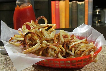 "TLC Cooking ""Oven-baked Curly Fries"""