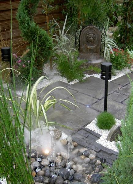 Marlux dalle polystone gris ardois jardin zen for Dalle jardin gris