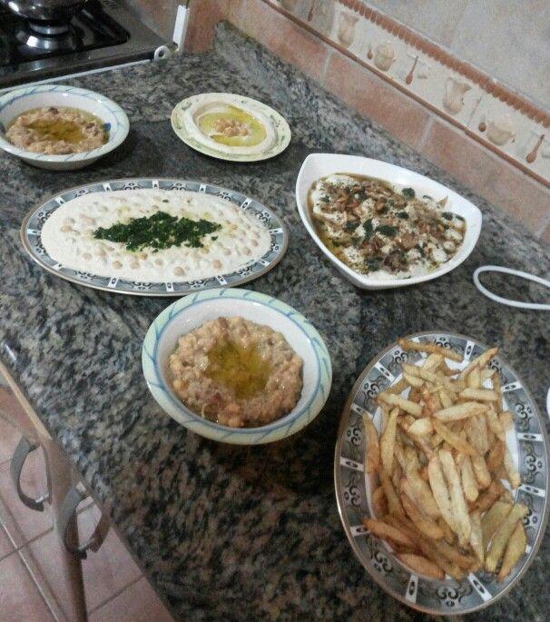 variations of hummus ... Lebanese cooking