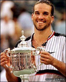 Pat Rafter,  Australian former World No. 1 tennis player.