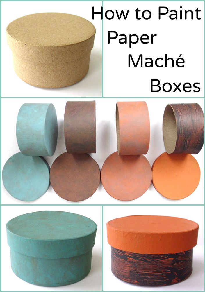 When I first began painting paper maché boxes, I had to special order mine, as they were not a commonly-carried item in craft stores. Happily, these days you can find them at the big-box stores and…