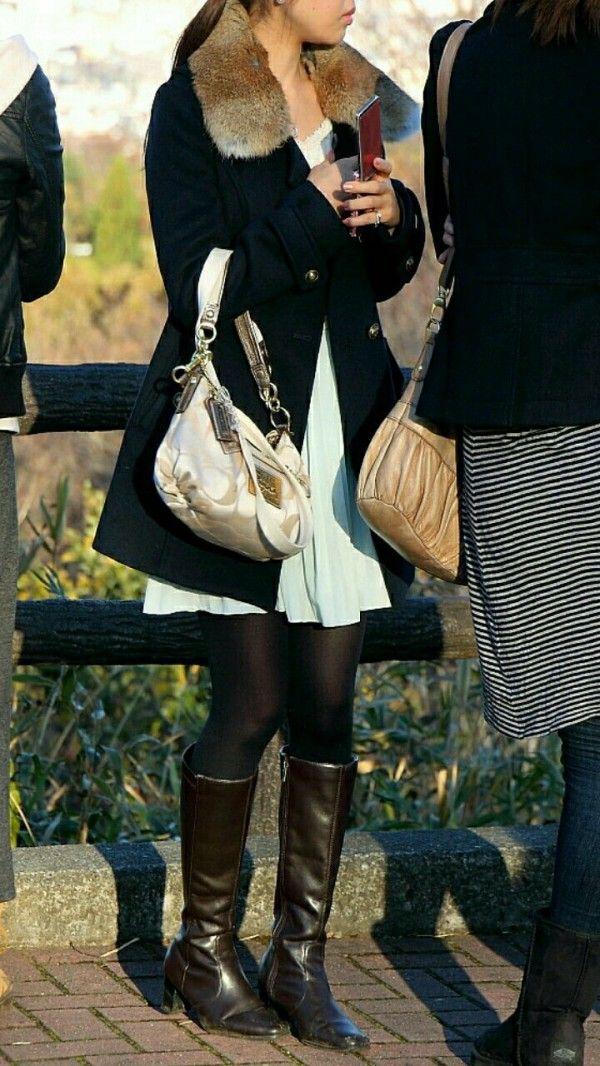 街撮り ブーツ ブーツの女性を街撮り : スプラッシュ【2020】   ロングブーツ ...