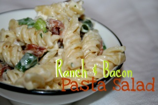 Ranch & Bacon Pasta Salad- new family favorite from the Simple Shortcuts Cookbook by @Gooseberry Patch *Giveaway*