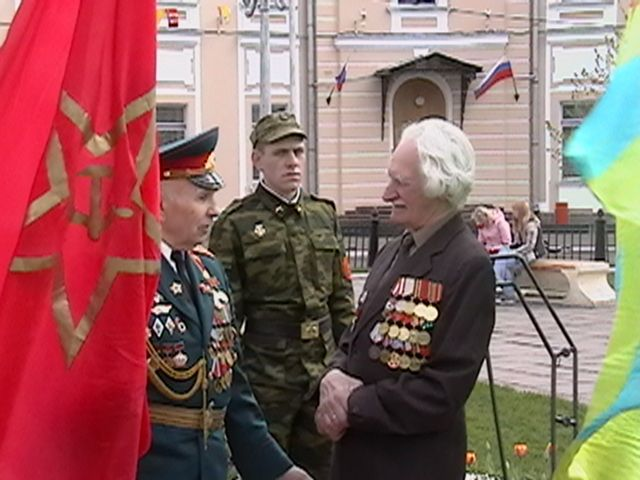 Russian Independence Day Celebration May 9th 2006--Old Soldiers