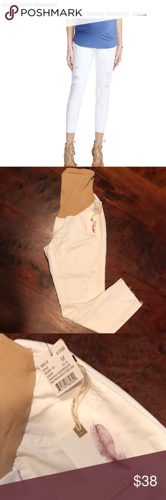 Jessica Simpson Maternity Pants Super cute maternity pants!! Brand new with tags still attached!  Jessica Simpson Pants Ankle & Cropped