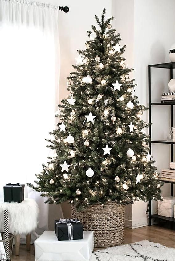 How Christmas In My Home Will Look Like In 2020 Minimalist Christmas Tree Christmas Decorations Apartment Scandinavian Christmas Trees