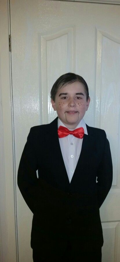 Slappy the Dummy from Goosebumps for world book day