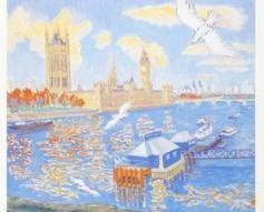 1985 Parliament London Underground Poster
