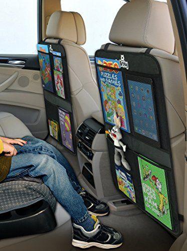 Smiinky Kick Mats with 2 Extra Large Organizer Pockets Covers for Cars, http://www.amazon.com/dp/B012M20CWY/ref=cm_sw_r_pi_awdm_had.wb0TMWM84