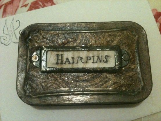 Altered altoid tin I finished today! by Mariec5454