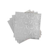Silver lace leather placemats set of 4  £24.99 - Dwell