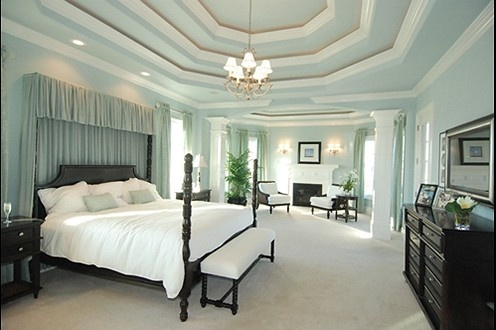 Cohen Homes' Master Bedroom Suite