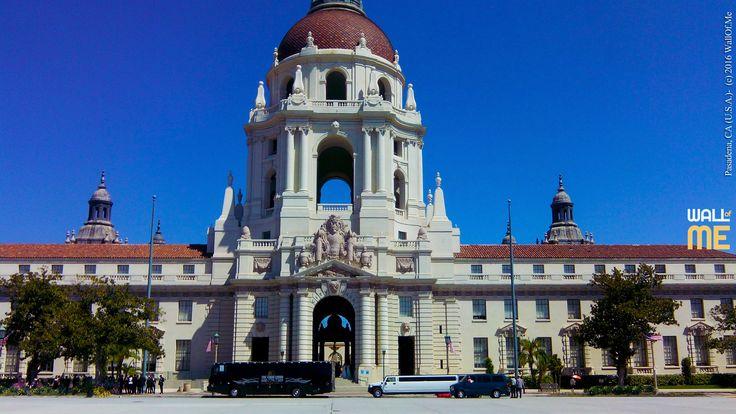 2016, week 46. Pasadena, City Hall - CA (U.S.A.).  Picture taken: 2016, 09