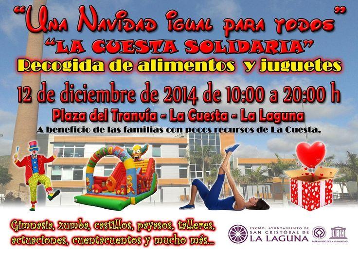 La Cuesta se vuelca con su maratón de recogida de alimentos y juguetes el próximo 12 de diciembre