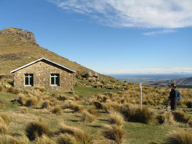 The Sign of the Packhorse Hut, Banks Peninsula. Photo: Jon Sullivan